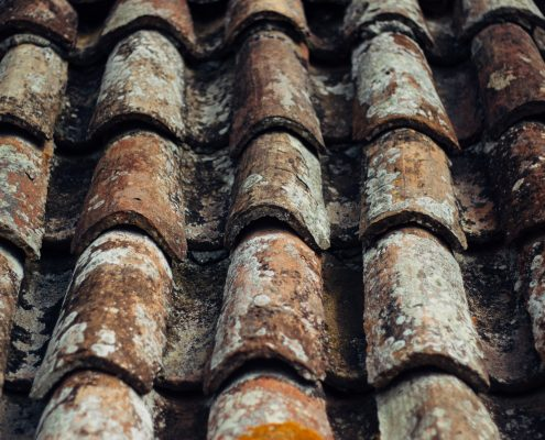 damaged roof to be fixed with the best roof paint by roof painting specialists