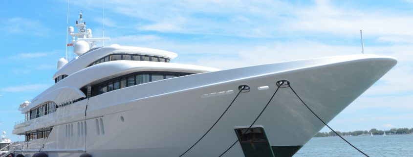 The complete guide to yacht paint for your vessel