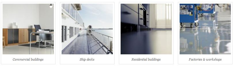 Different uses of industrial coatings