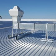 Antimicrobial duct coating improving interior air.