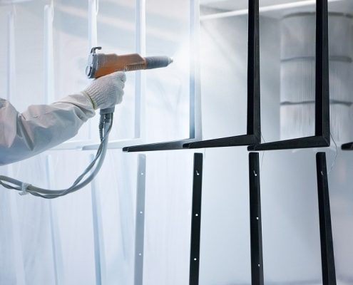 powder coating cost for mass projects