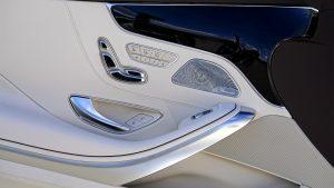 car interior with plastic automotive paint