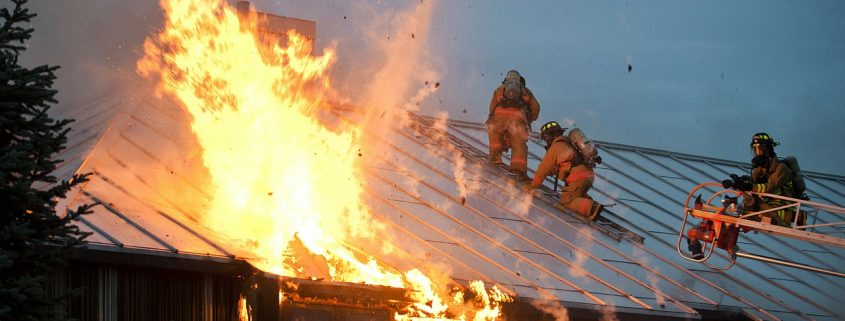 Intumescent paint can give vital time for firefighters to get a blaze under control.