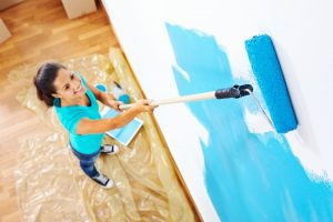 Low VOC paint is the best choice for decorative coatings for interiors.