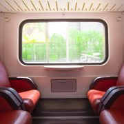 automotive powder coating in train interior
