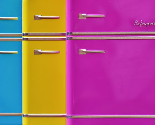 powder coating appliances allows for colourful finishes