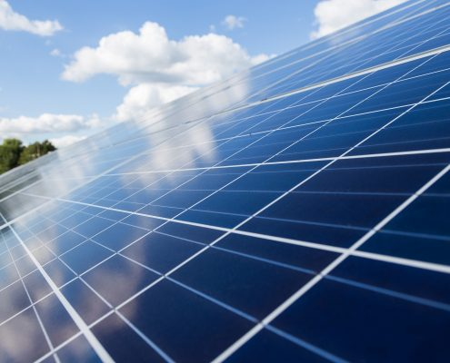 Solar panels treated with nano solar panel coating