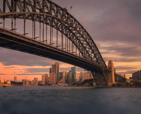 Intumescent paint Sydney Harbour Bridge