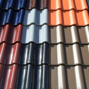 Roof paint can be used to protect flat roofs and tiled roofs.