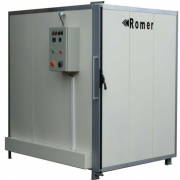 Powder coating supplies include the right oven, which can be either convection or infrared.