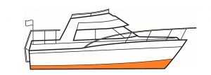 Below the waterline yacht paint needs to protect against biofouling and corrosion