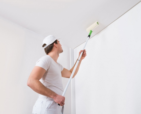 Best paint for ceiling How to paint ceilings